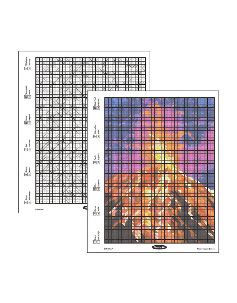 Mindware Mystery Mosaics Book 13