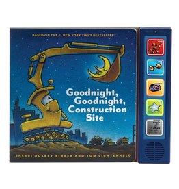 Chronicle Books Goodnight, Goodnight Construction Site Sound Bk