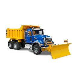 Bruder Mack Dump Truck w/ Plow