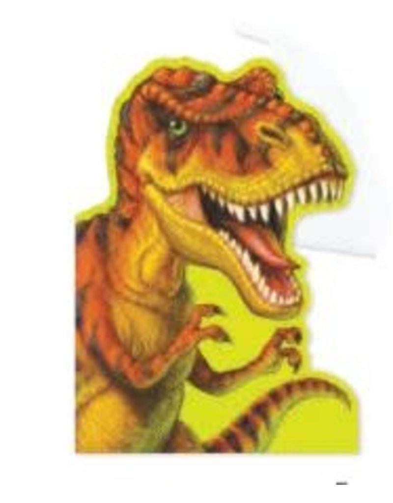 Peaceable Kingdom T-Rex Birthday Card