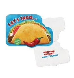 Peaceable Kingdom Scratch & Sniff: Taco Card