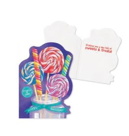 Peaceable Kingdom Scratch & Sniff: Candy Card