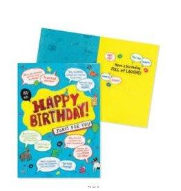 Peaceable Kingdom Jokes Birthday Card
