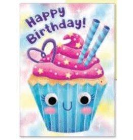 Peaceable Kingdom Googly Eyes: Cupcake Card
