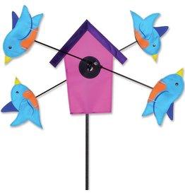 Premier Kites WhirliGig Spinner - Bluebird Birdhouse