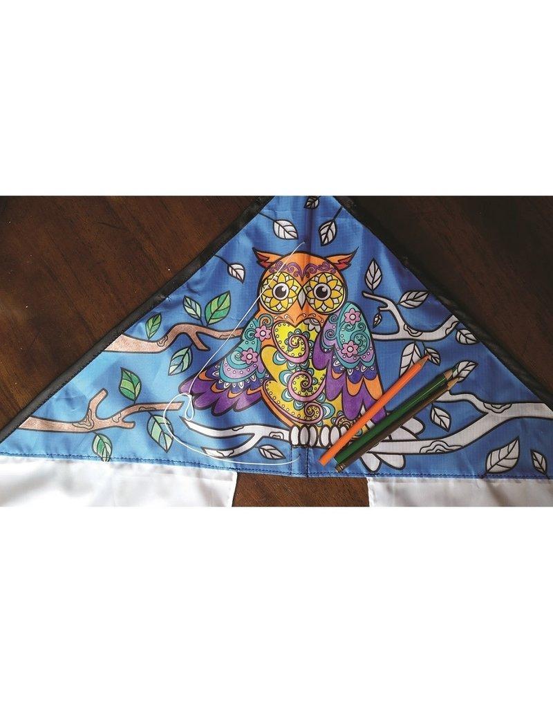 Premier Kites Coloring Kite Owl