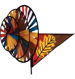 Premier Kites Fall Leaf Triple Spinner