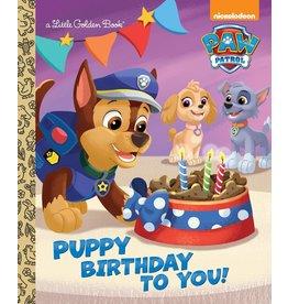 Random House Puppy Birthday to You