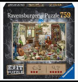 Ravensburger Escape Puzzle - The Artist's Studio 759 pc