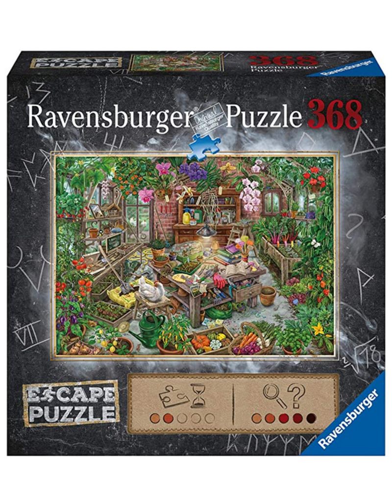 Ravensburger Escape Puzzle - the Cursed Greenhouse 368 pc