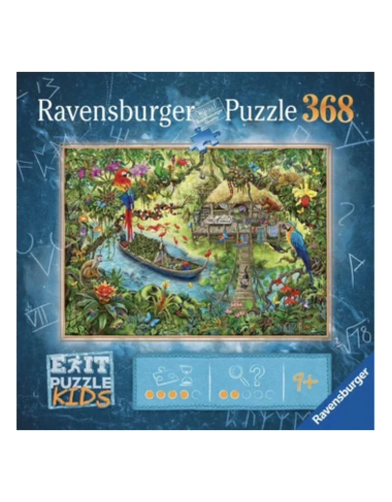 Ravensburger Escape Puzzle Kids - Jungle Journey 368 pc