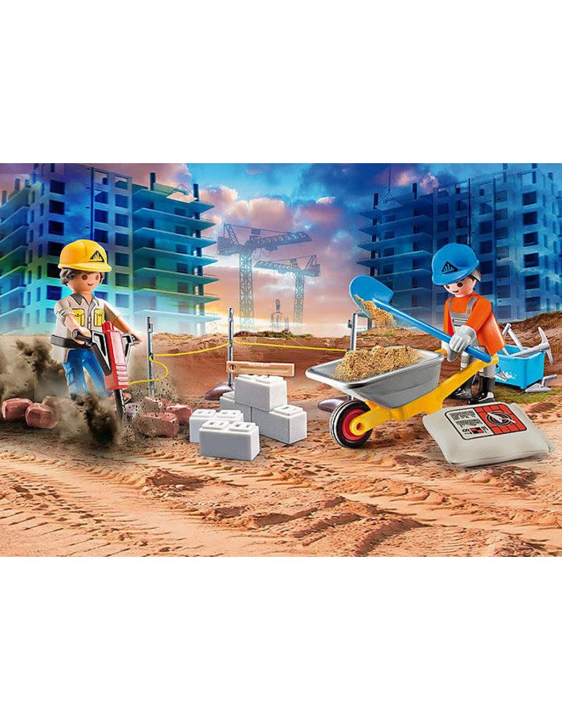Playmobil Construction Site Carry Case