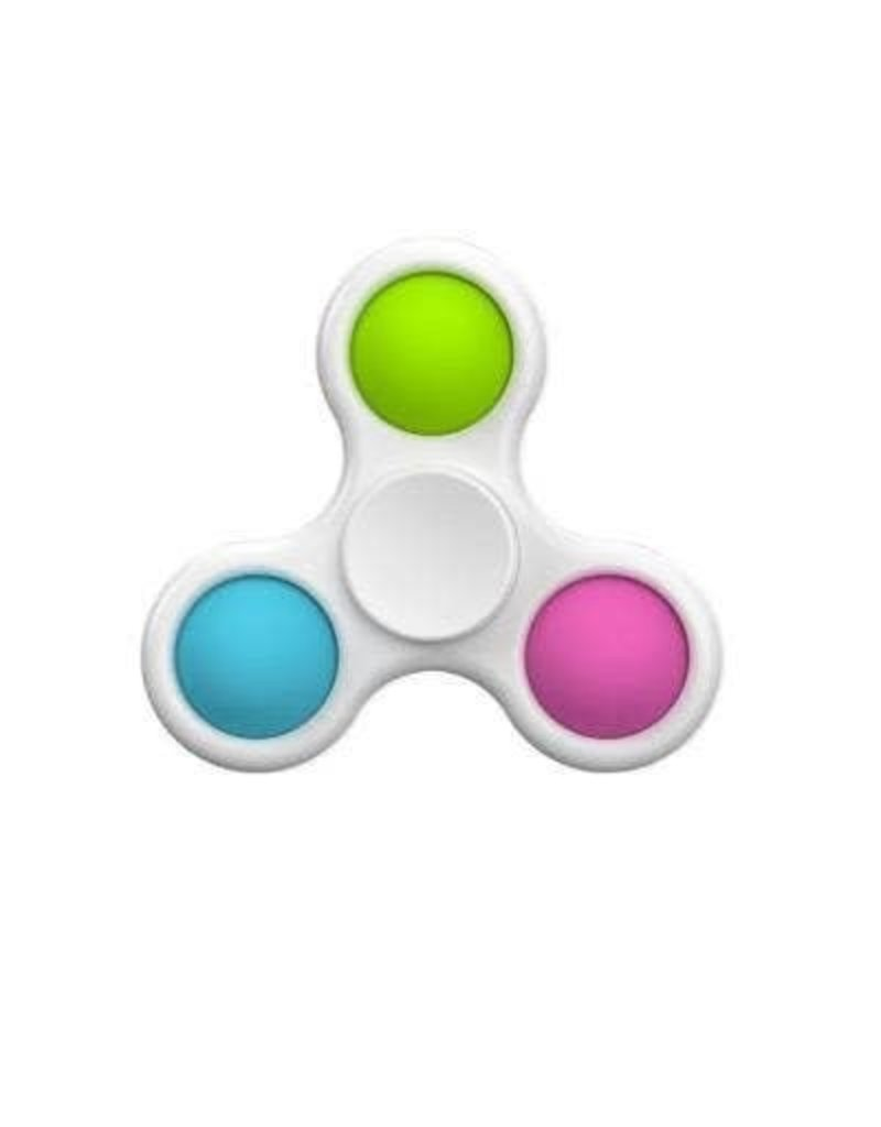 2-1 Simple Dimple Sensory Fidget Spinner Toy