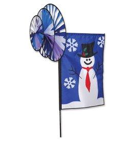 Premier Kites Triple Spinner Banner Snowman
