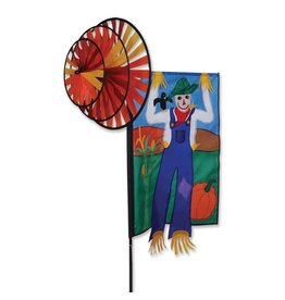 Premier Kites Triple Spinner Banner Scarecrow