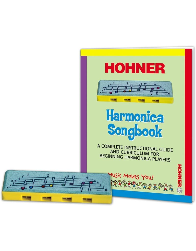 Hohner Learn to Play Harmonica Package
