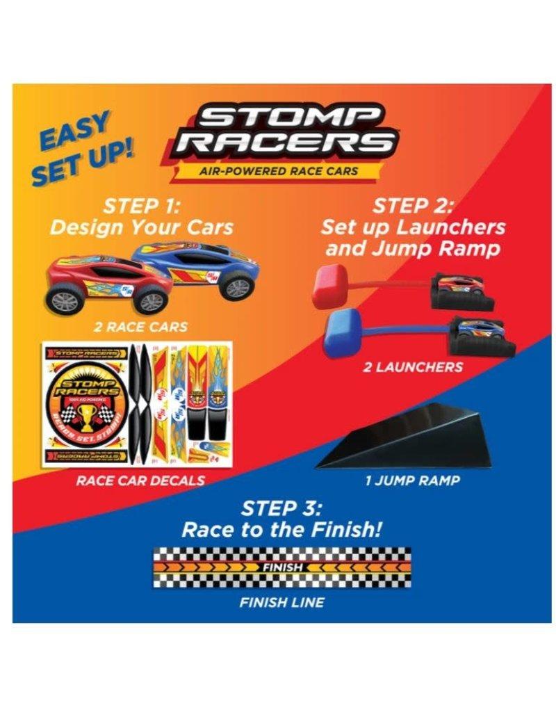 D & L Stomp Rocket Dueling Stomp Racer