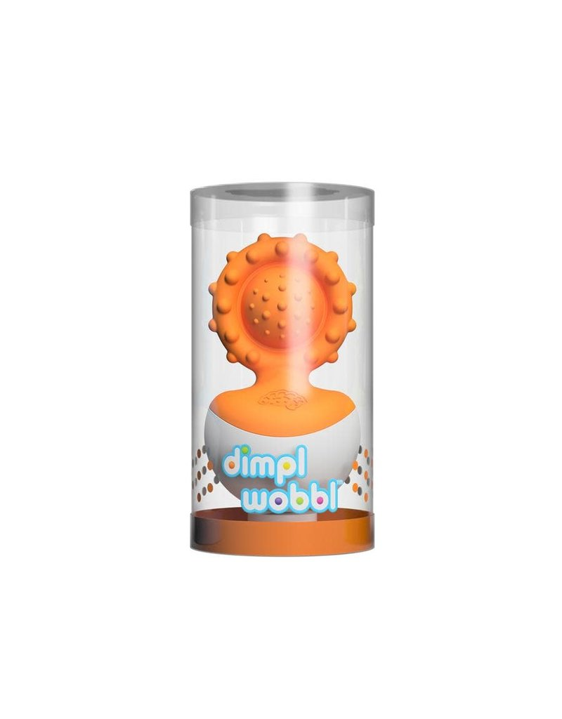 Fat Brain dimpl wobbl Orange