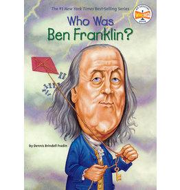 Penguin Who Was Ben Franklin?