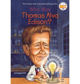 Penguin Who Was Thomas Alva Edison?