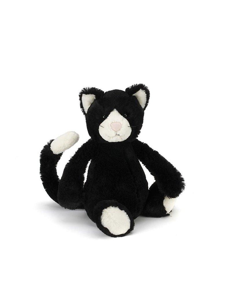 Bashful Black & White Cat Small