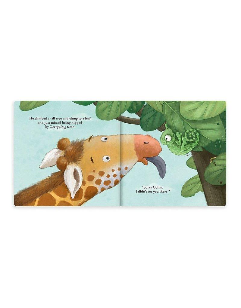Jellycat Colin Chameleon Board Book