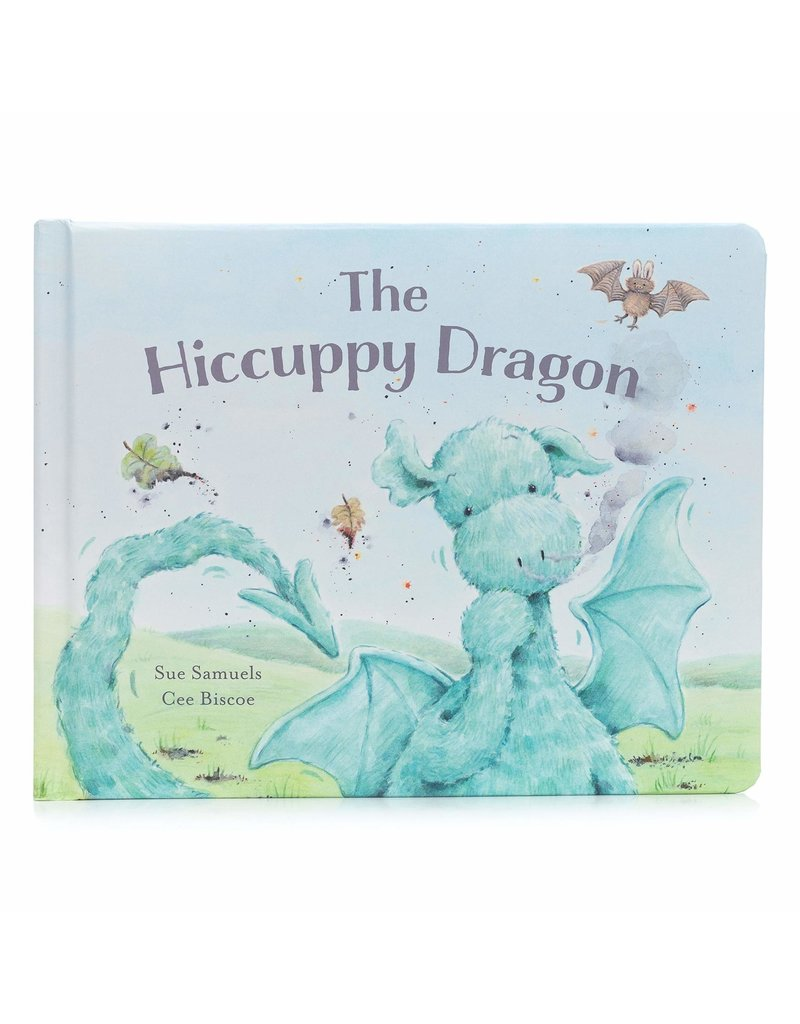 Jellycat Hiccuppy Dragon Book, The