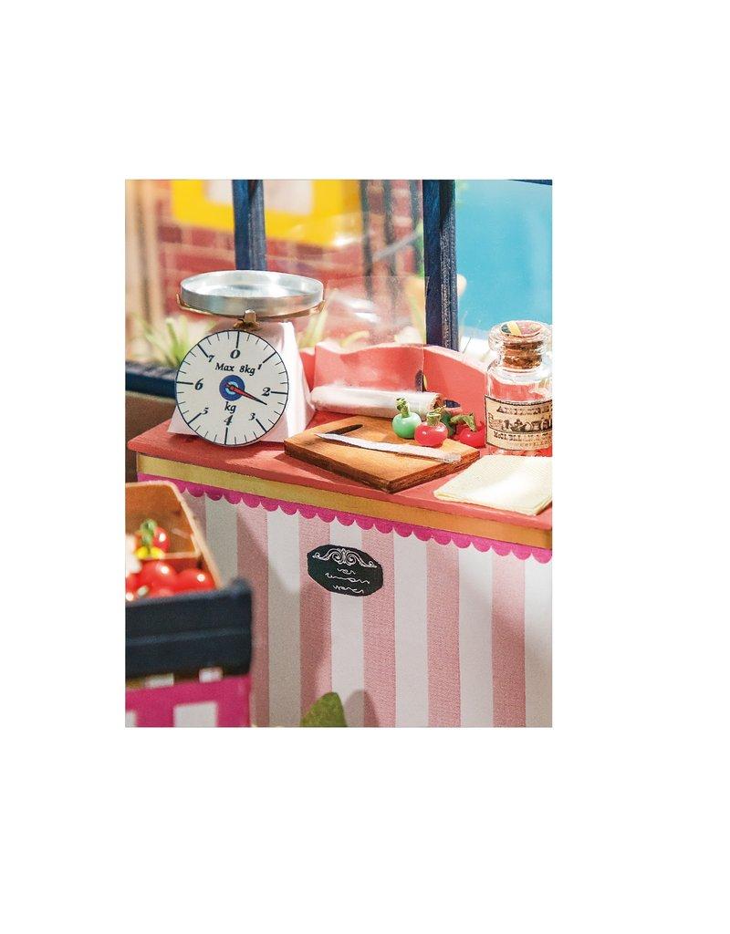 Hands Craft DIY Miniature Fruit Shop Kit