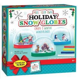 Creativity for Kids MYO Holiday Snow Globes
