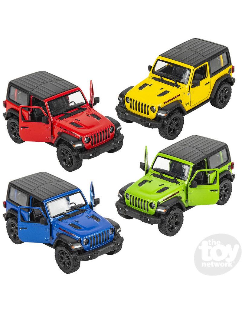 Die-Cast 2018 Jeep Wrangler Hard Top (assort colors)