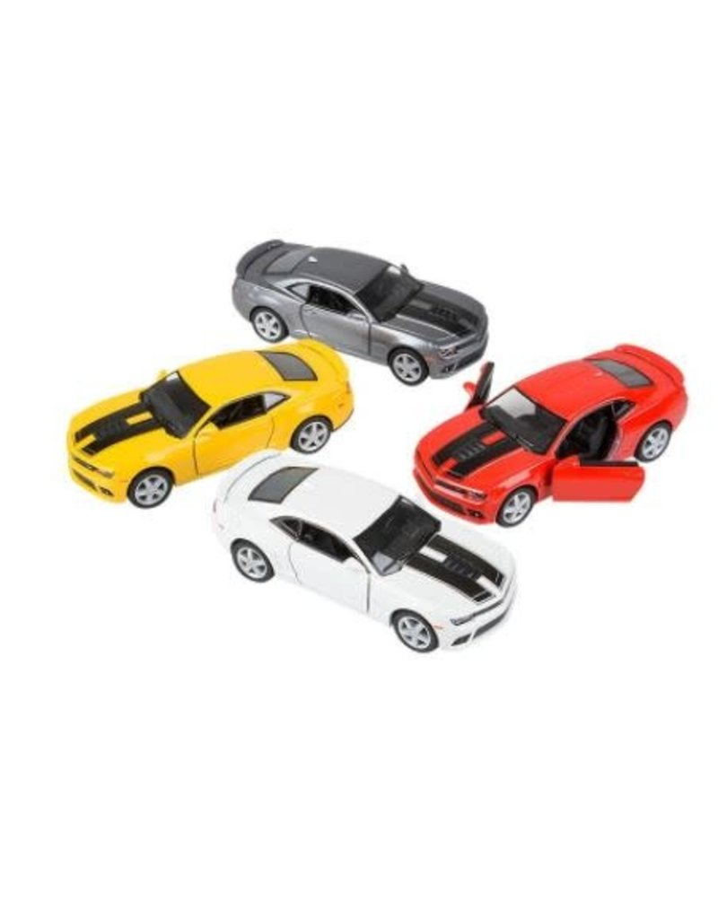 Die-Cast Pull Back 2014 Chevy Camaro (asst colors)