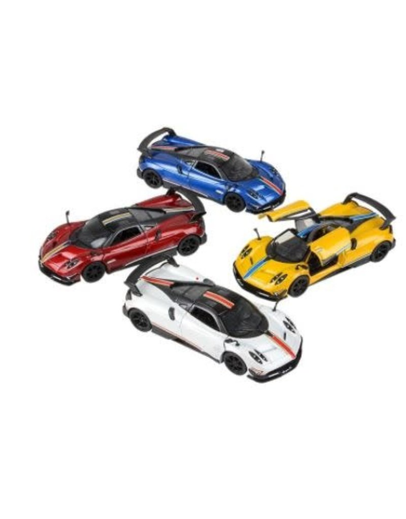 Die-Cast Pull Back 2016 Pagani Huayra (asst colors)