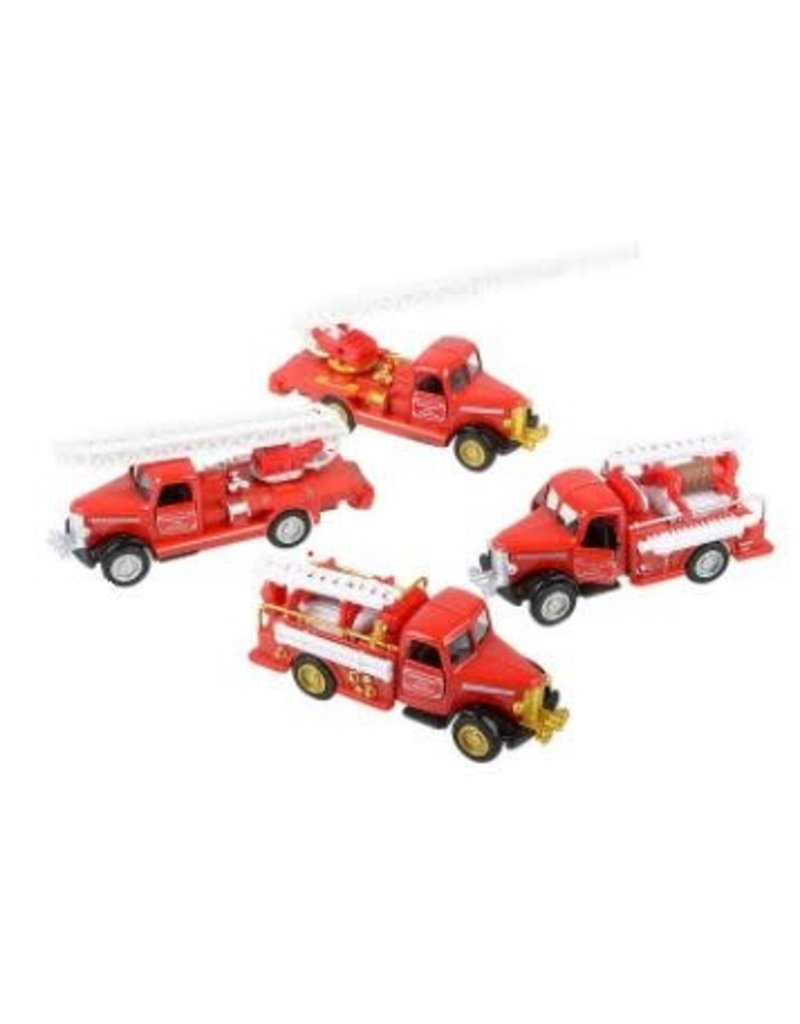 The Toy Network Die Cast Classic Fire Truck (asst styles)