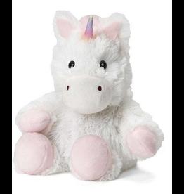 Warmies White Unicorn Jr Warmies