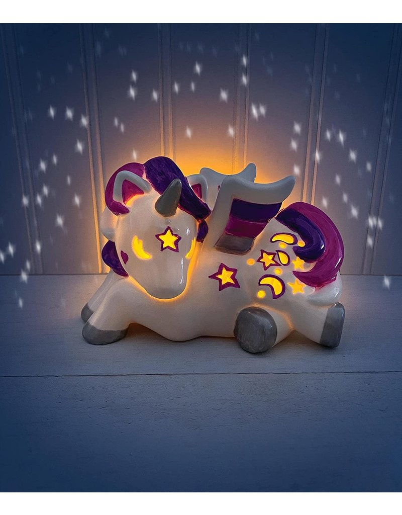 Bright Stripes LED Candle Critter Pegasus