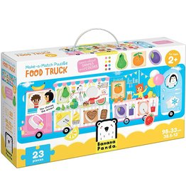 banana panda Make-a-Match Puzzle Food Truck