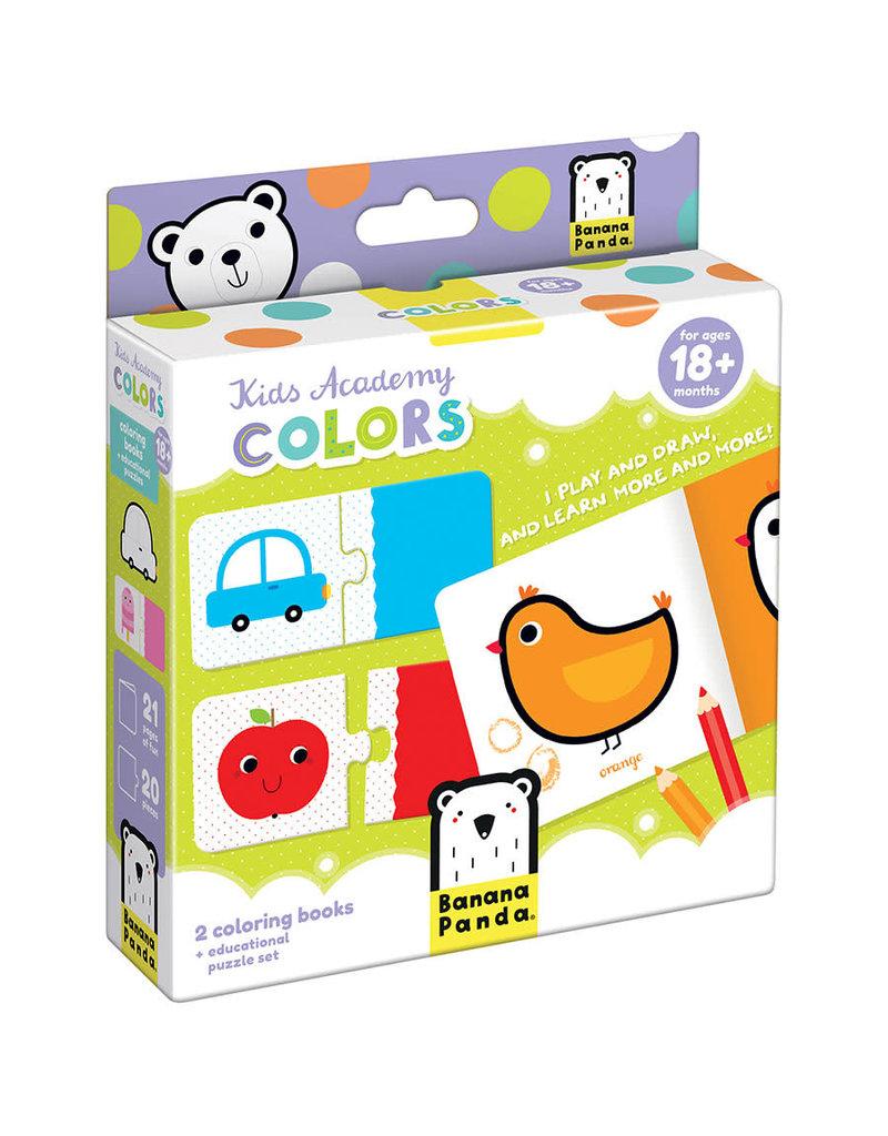banana panda Kids Academy Colors