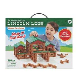 Lincoln Logs Lincoln Logs- 268 pc Farmhouse