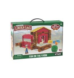 Lincoln Logs Lincoln Logs- 102 pc Farm