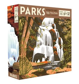 Keymasters Games Parks board game