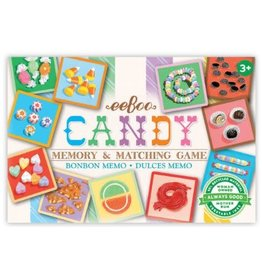Eeboo Candy Square Memory Game
