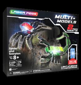 Laser Pegs Spider & Scorpian Laser Pegs