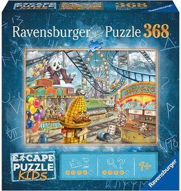 Ravensburger Escape Puzzle Kids - Amusement Park Plight 368 pc