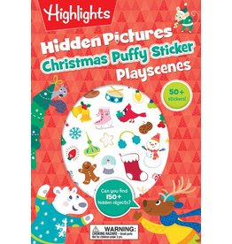 Highlights Christmas Puffy Sticker Playscenes