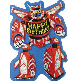 Peaceable Kingdom Happy Birthday Transformer Card