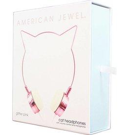 Kitty Headphones - Rose Gold