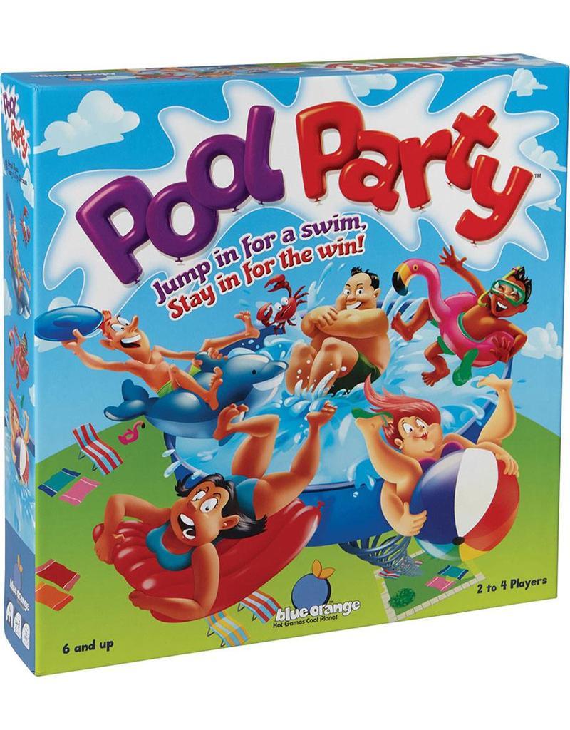 Blue Orange Pool Party Game