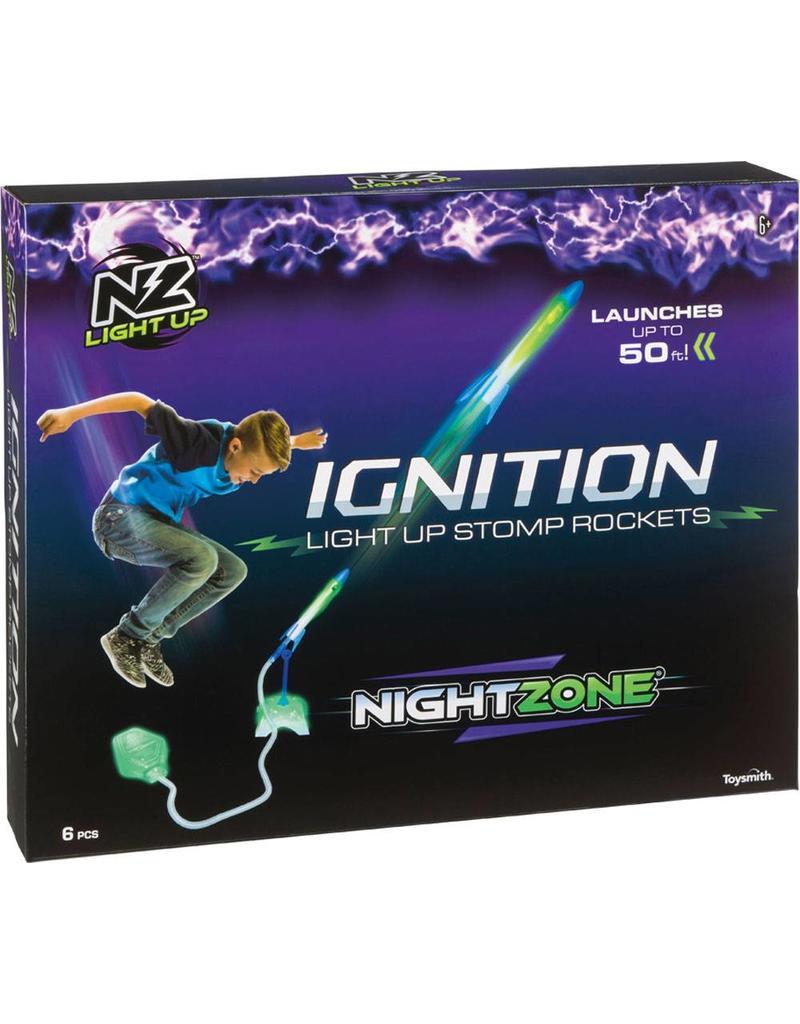 NZ - Ignition Light Up Stomp Rocket