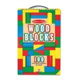 Melissa and Doug 100 pc Wooden Blocks