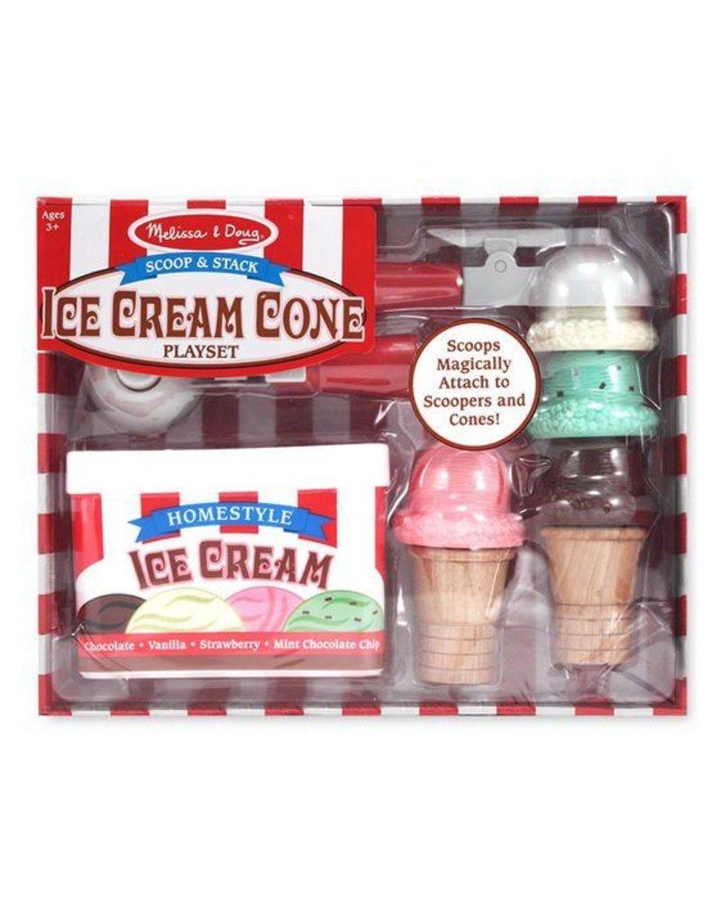 Melissa and Doug Ice Cream Cone Scoop & Stack